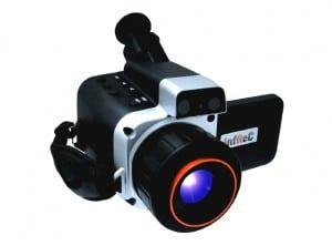 irPOD Exklusive IR-Wärmebildkamera, Infrarotkamera Avio NEC Thermal Imager R300SR