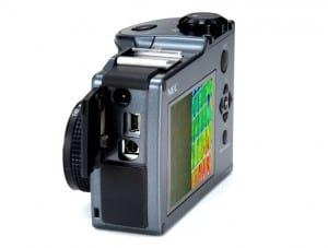 irPOD Mini IR-Wärmebildkamera, Infrarotkamera Avio NEC Thermo Shot F30S