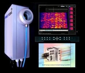 irPOD IR-Wärmebildkamera, Infrarotkamera IP67 mit Trigger und Luftspülung