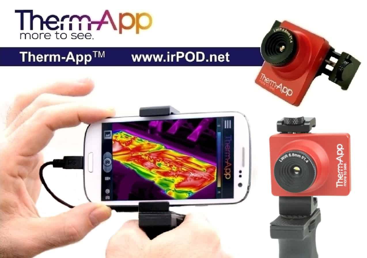 therm app th hochaufl sende infrarot w rmebildkamera f r smartphones avio nec servicezentrum. Black Bedroom Furniture Sets. Home Design Ideas