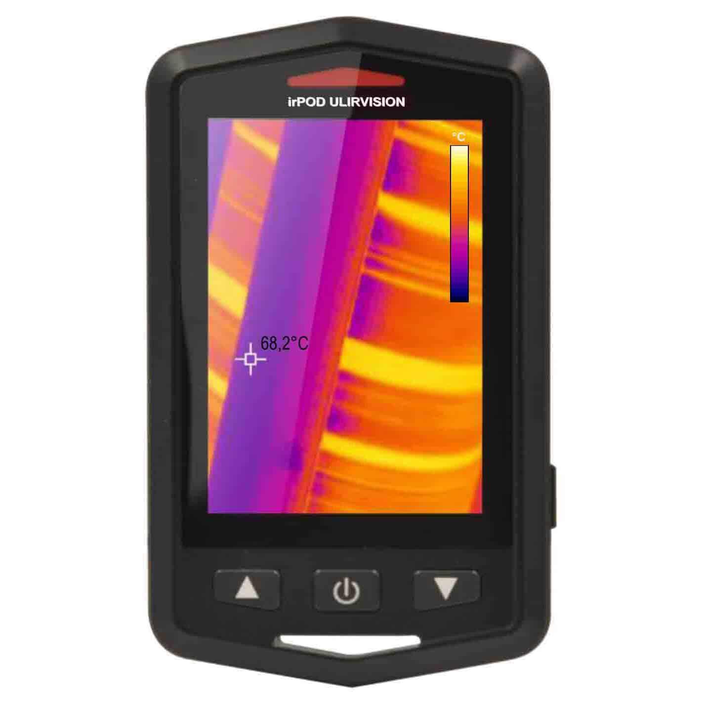irPOD ULIRVISION Taschenformat Wärmebildkamera T2